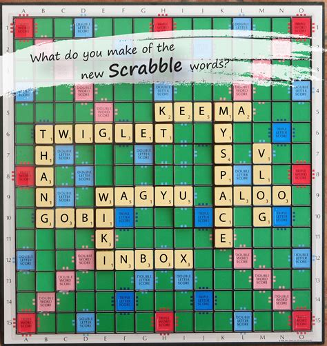 what is scrabble scrabble new words added to scrabble bath