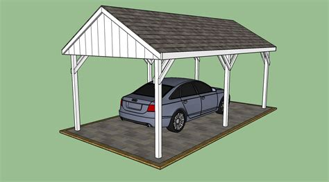 Carport Plans by Free Carport Plans Howtospecialist How To Build Step