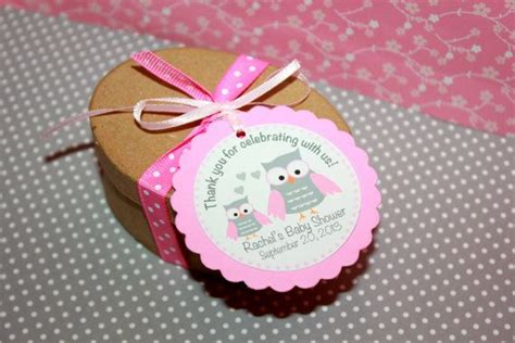 Shower For Babies by Owl Baby Shower Favor Tags