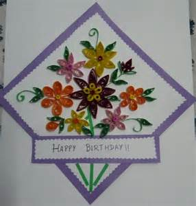 craft work paper my craft work paper quilling card