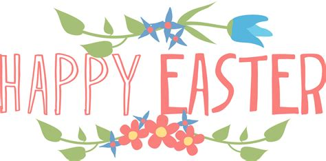 Free Happy Easter Clip by Happy Easter Text Png