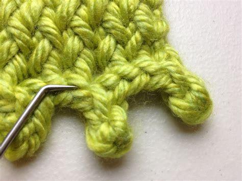 bind in knitting bo bind loom knit bind goodknit kisses