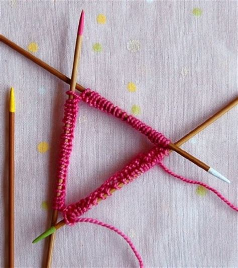 knitting with pointed needles pointed needles tutorial knitting how tos