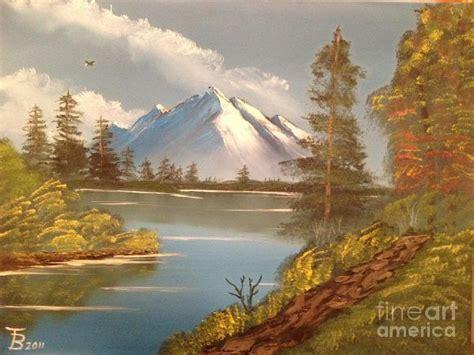 bob ross painting lake bob ross majestic mountain lake painting bob ross