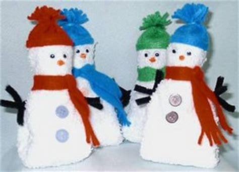 all free crafts washcloth snowman all free crafts