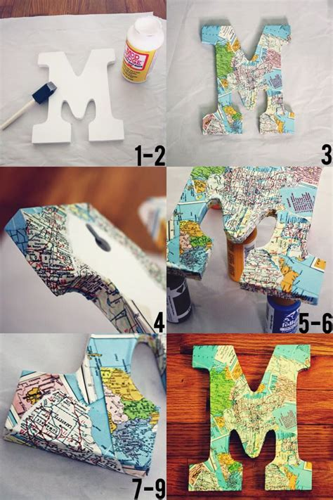 how to make decoupage letters 25 best ideas about decoupage letters on