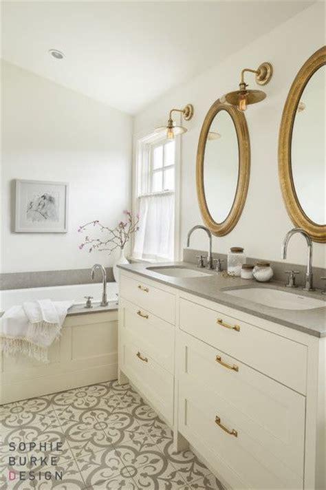 bathroom mixed metals loving cement tiles encaustic tiles toni schefer design