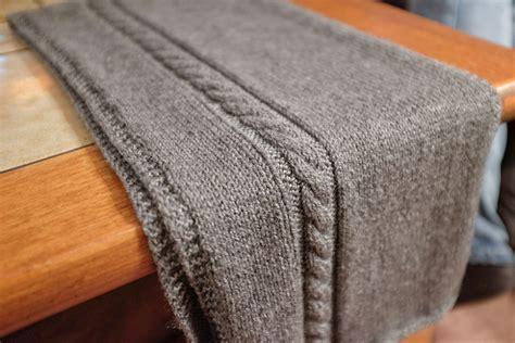 travel knit travel knit scarf allfreeknitting