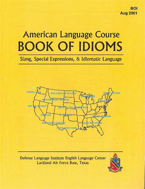 picture books with idioms american language course book of idioms