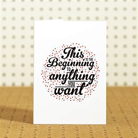 beginning card new beginning quotes about quotesgram