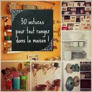 50 astuces pour tout ranger dans la maison tunisme