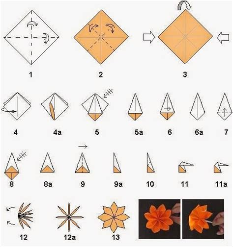 really easy origami flower refined simple origami flower 2016