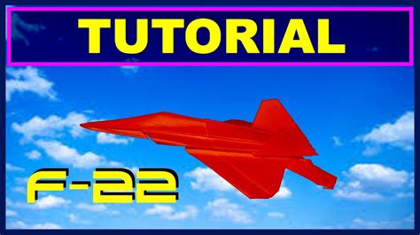 origami f 22 raptor origami airplanes tutorial of f 22 raptor with no cuts