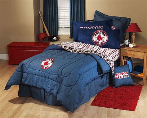 sox bedding boston sox team denim comforter sheet set