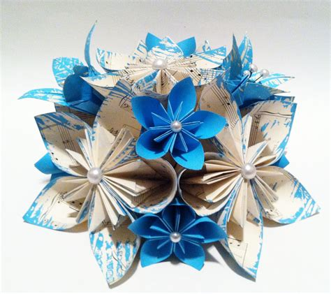 origami flower wedding origami wedding centerpiece paper flowers and by