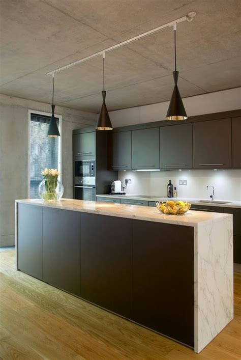 track light in kitchen an easy kitchen update with pendant track lights home