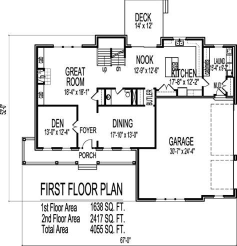 bedroom blueprint farmhouse floorplan future home house