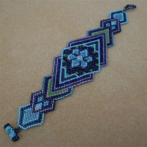 beaded american bracelets american beaded bracelet in blues turquoise green