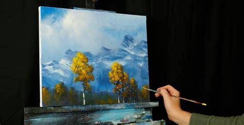 acrylic painting classes jacksonville fl mountain aspen an acrylic painting lesson tim