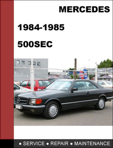 car repair manuals download 1985 mercedes benz s class parental controls mercedes benz 500sec w126 1984 1985 factory workshop service manual