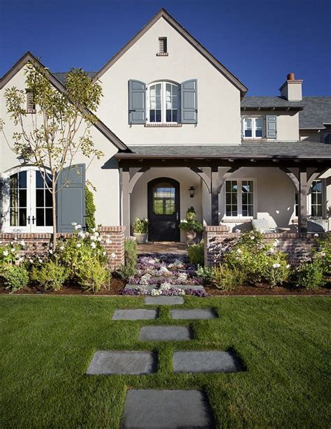 exterior landscaping landscaping western style house exterior designs ideas