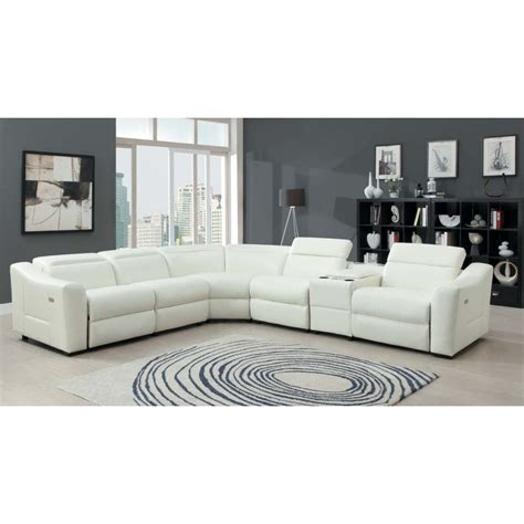 leather sectional sofa with power recliner leather recliner sectional sofa