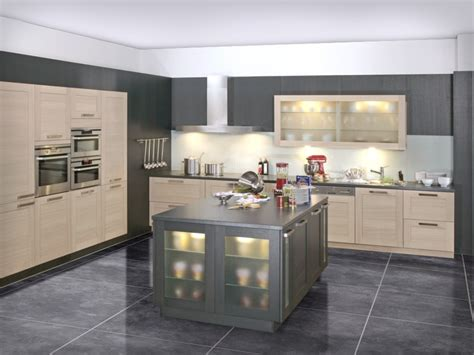 grey modern kitchen design and grey litchen decobizz