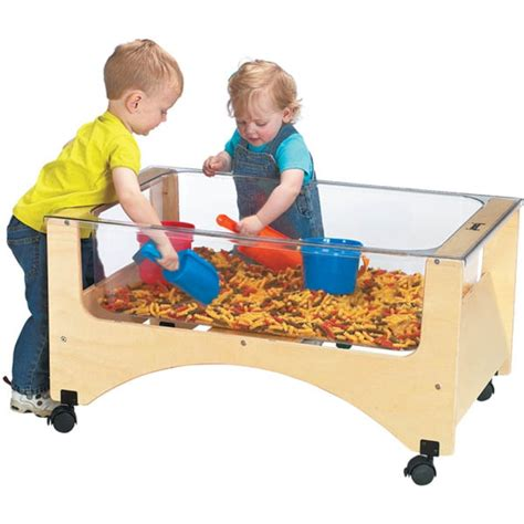 water sensory table jonti craft see thru sensory table 2872jc jonti craft