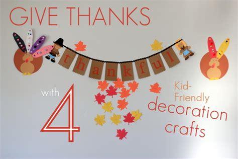 kid friendly thanksgiving crafts tutorial 4 kid friendly thanksgiving decoration crafts