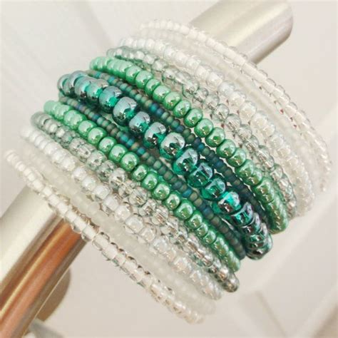 beaded cuff bracelet best 25 beaded cuff bracelet ideas on
