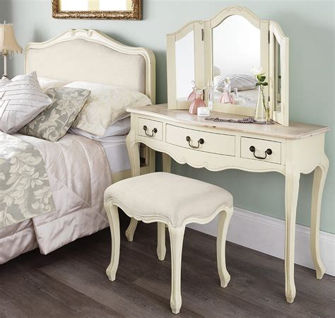 shabby bedroom furniture shabby chic chagne dressing table mirror bedroom