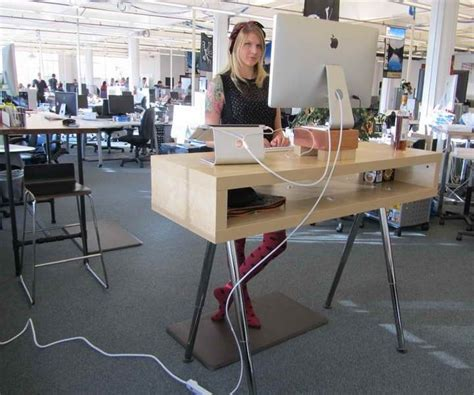 ikea standing desks ikea standing desk hack ideas office space