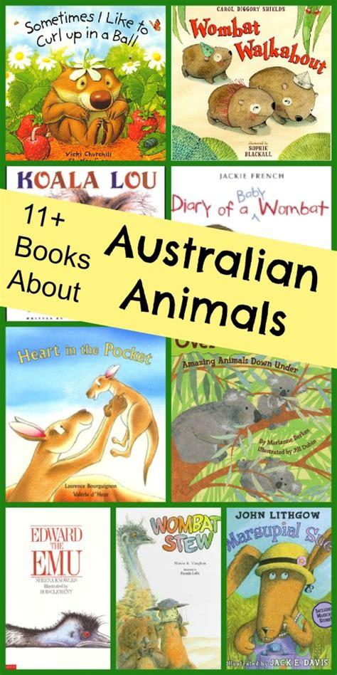 australian picture books animals of australia book list