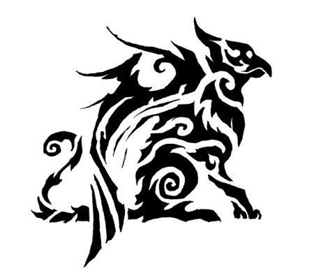 gryphon tattoo by keaze on deviantart