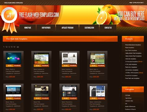 free site 30 that offer free website templates and free flash