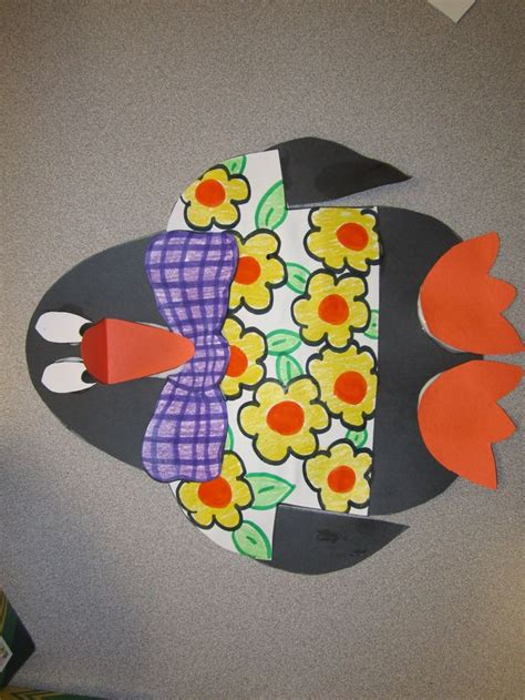 penguin craft projects 112 best january preschool crafts images on