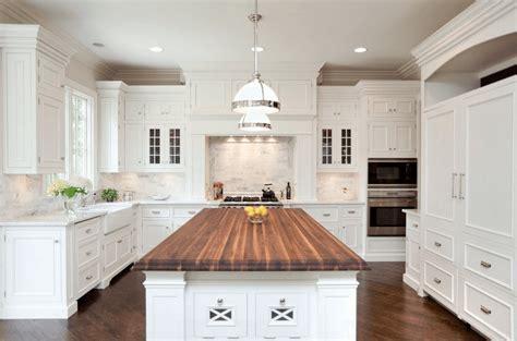 white kitchen wood island 30 white kitchen picture ideas cabinets islands