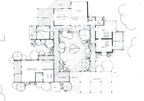 house plans with courtyard the courtyard house fraser building designer