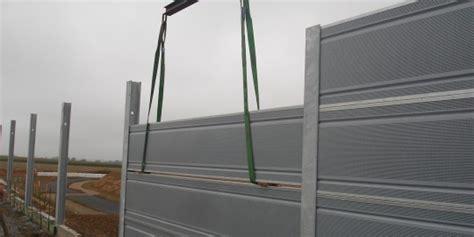 ecran acoustiques belges murs et 233 crans anti bruits en bois ou m 233 tal facea concept