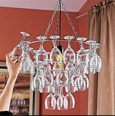 how to make a wine glass chandelier wine glass chandelier 11 creative ideas guide patterns