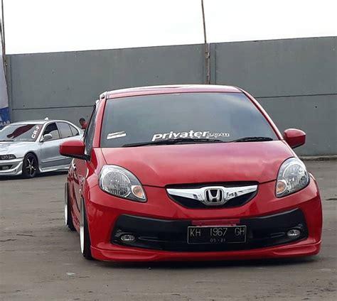 Modifikasi Mobil Merah by Modifikasi Mobil Ceper Brio Merah Keren Owner Ido Pang