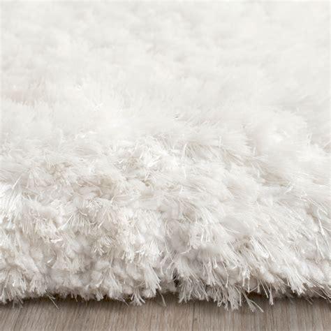 white shag area rug white shag rug and white trellis shag rug with fabulous