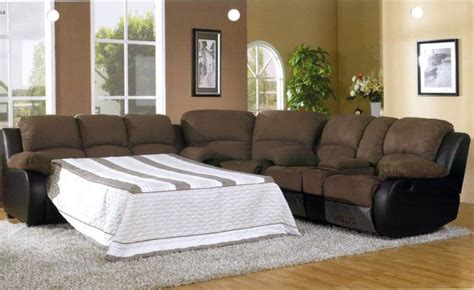sectional sofa with sleeper and recliner comfortable sectional sleeper sofa design ideas rilane