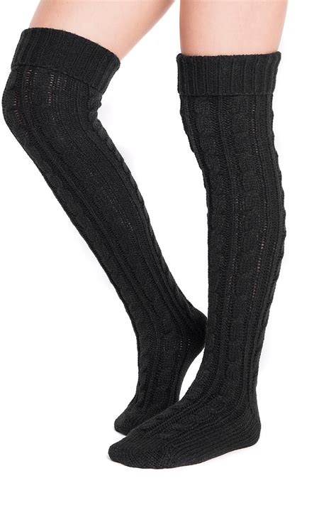 cable knit the knee socks muk luks cable knit the knee sock nordstrom rack