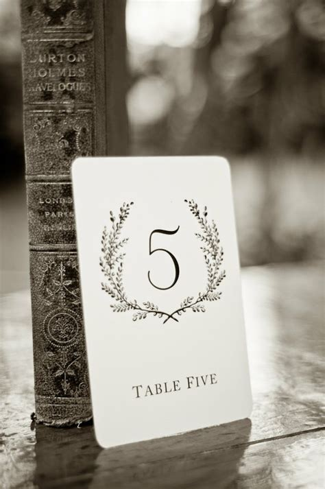 how to make table number cards vintage wedding place cards table numbers ideas