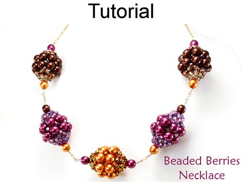 bead necklace tutorial patterns beaded beading pattern tutorial beaded chain