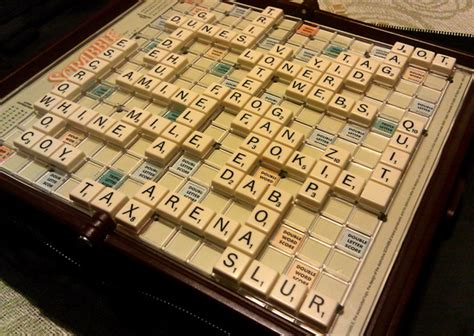 scrabble chionship player hiding blank tiles at scrabble national