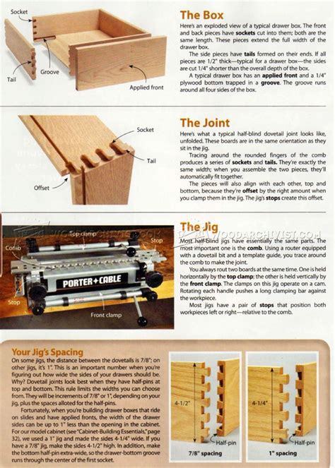 how to build a cabinet drawer build cabinet drawer boxes woodarchivist