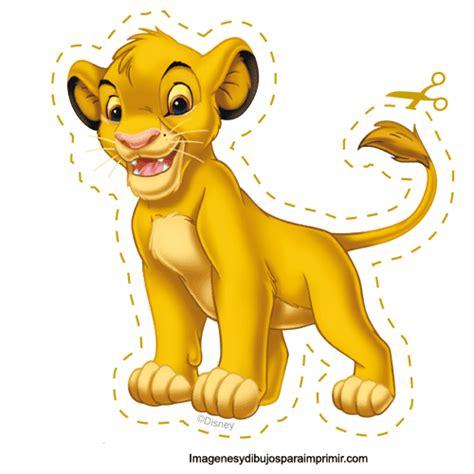 imprimir entradas rey leon gifs de fantasia personajes de disney para recortar