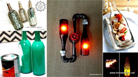 glass bottle craft projects 44 diy wine bottles crafts and ideas on how to cut glass